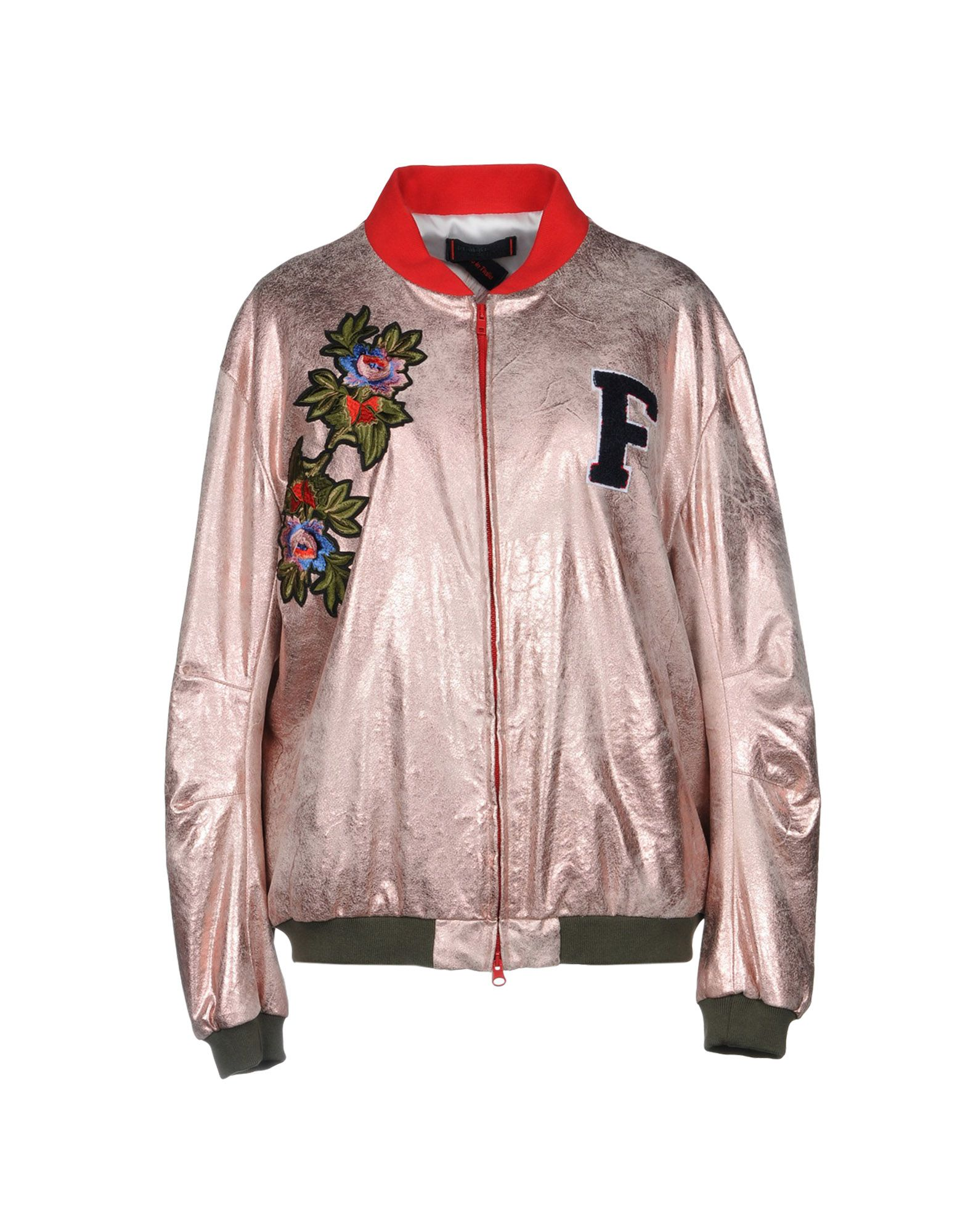 FEMME BY MICHELE ROSSI Bomber in Pink