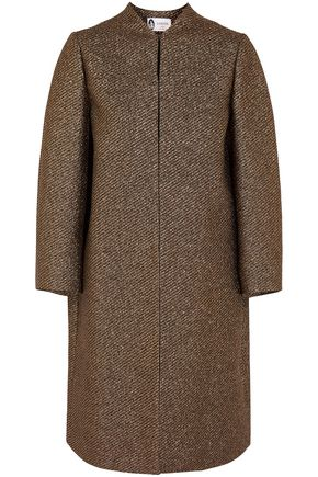 LANVIN Metallic gabardine coat