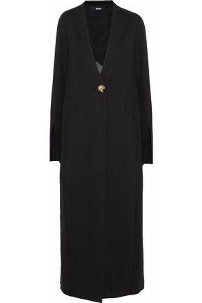 NICHOLAS Wool-blend ponte coat