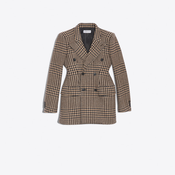 Hourglass Double Breasted Jacket