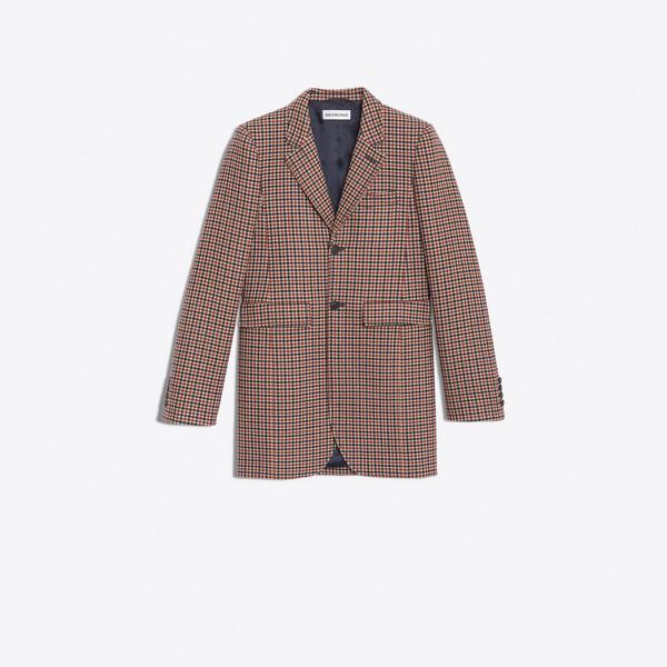 Shaped Single Breasted Jacket