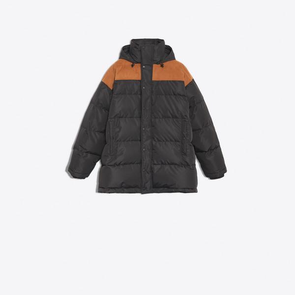 Alcantara Down Jacket