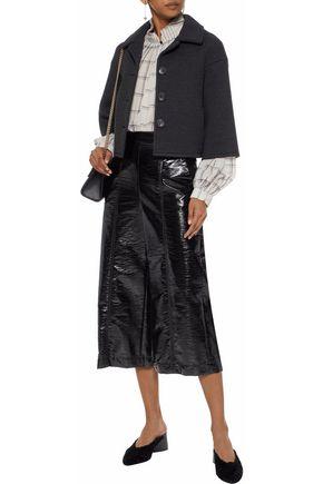 REDValentino Wool-blend twill coat