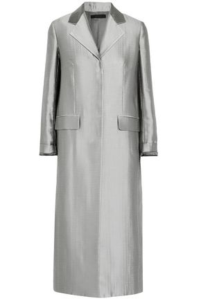 THE ROW Muedi metallic wool-blend coat