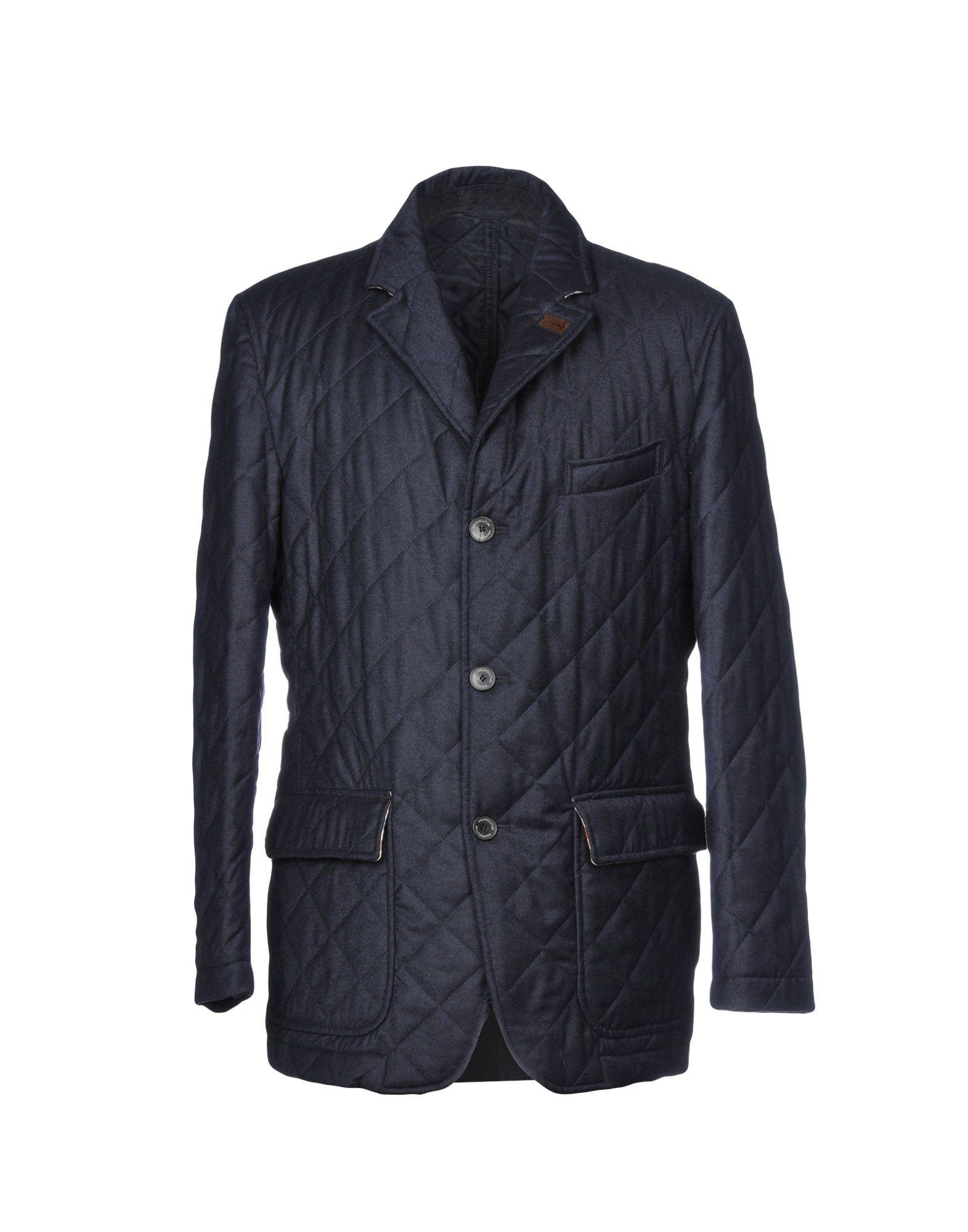 AQUASCUTUM Coat in Dark Blue