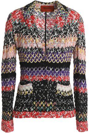 MISSONI Crochet-knit jacket