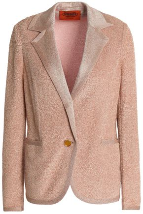MISSONI Metallic stretch-knit blazer