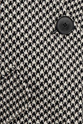 STELLA McCARTNEY Houndstooth wool-blend coat