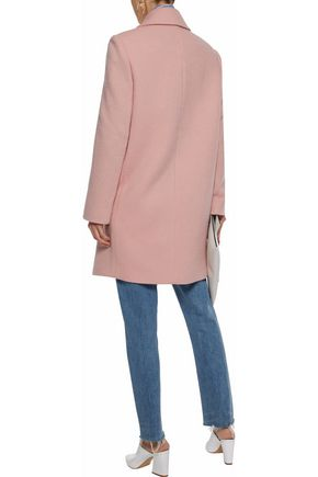THEORY Cape double-breasted wool coat