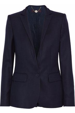 STELLA McCARTNEY Basketweave wool blazer