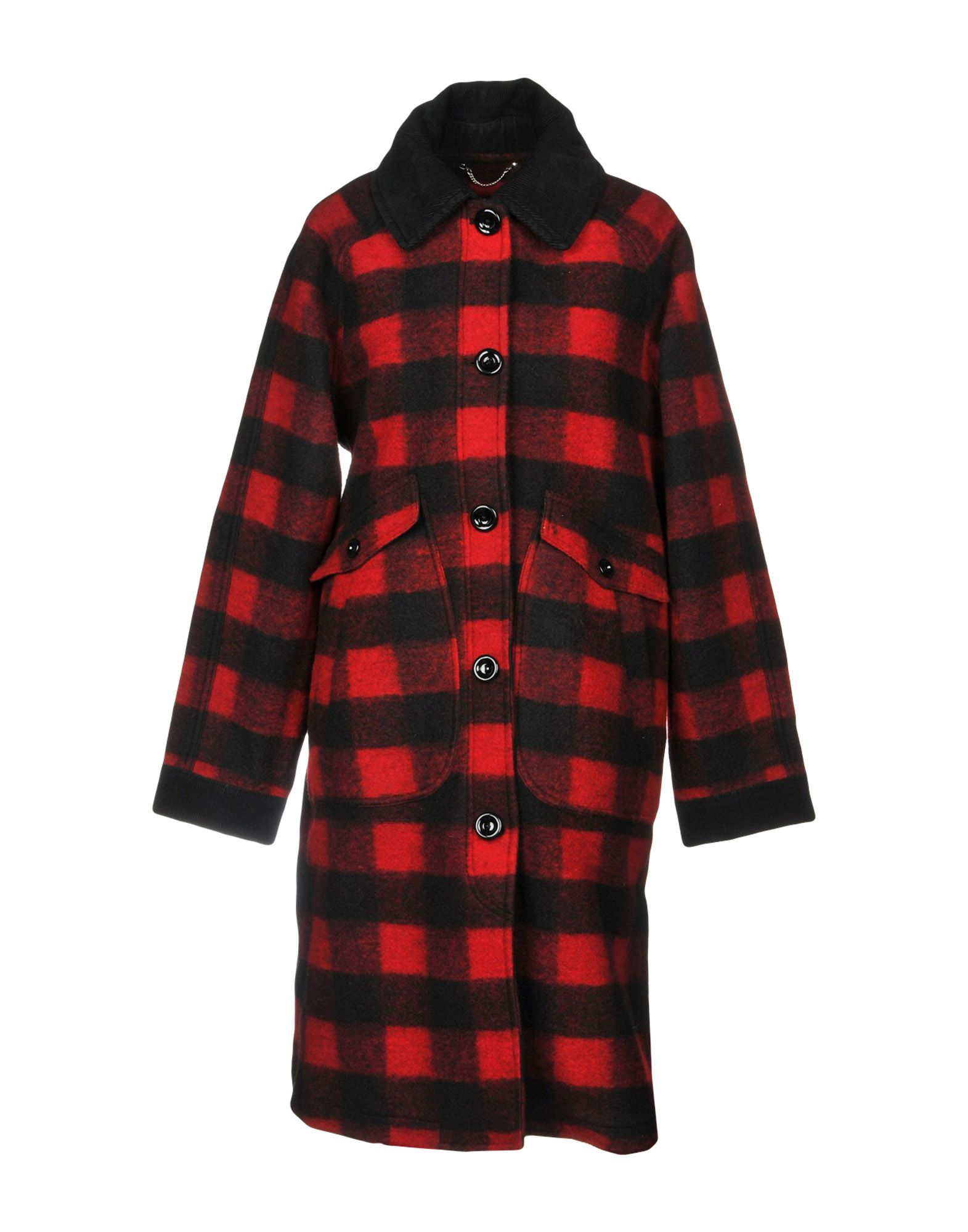 Coat in Red