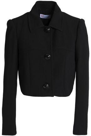 REDValentino Cropped crepe jacket