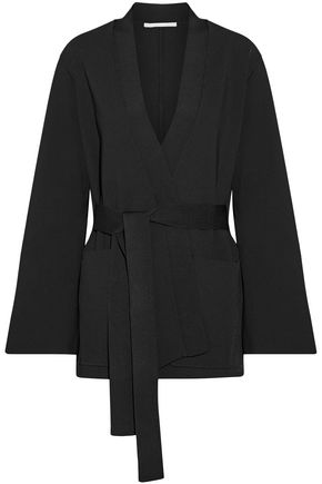 Stretch Knit Wrap Jacket by Stella Mc Cartney