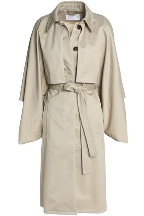 CHLOÉ Cotton-twill trench coat
