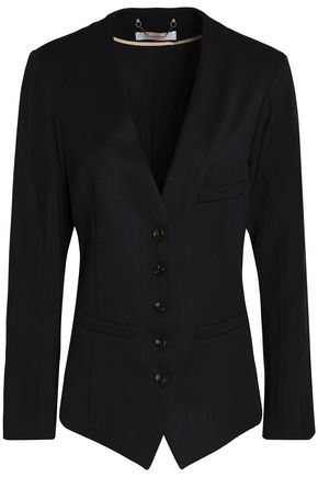 CHLOÉ Wool and cotton-blend twill blazer