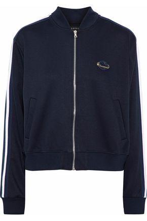 MARKUS LUPFER Charlotte appliquéd jersey jacket