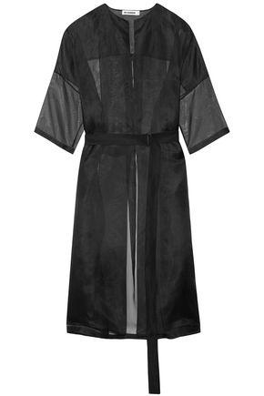 JIL SANDER Silk-organza jacket