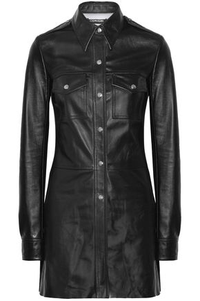 CALVIN KLEIN 205W39NYC Leather shirt