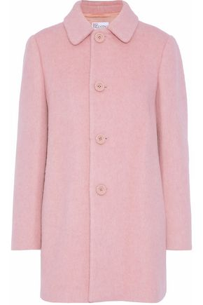 REDValentino Brushed wool-blend coat