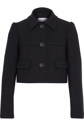 REDValentino Cropped ponte jacket