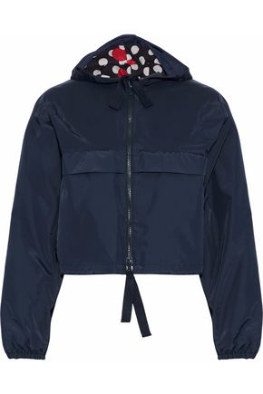 REDValentino Shell hooded jacket
