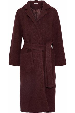 GANNI Fenn wool-blend bouclé coat