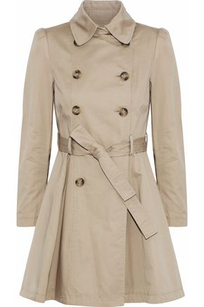 REDValentino Gabardine trench coat