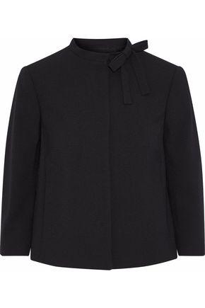 REDValentino Bow-embellished crepe blazer