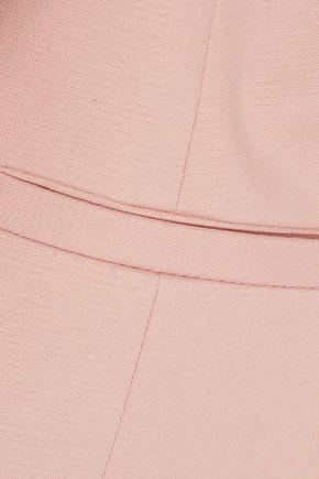 REDValentino Satin-trimmed cotton-blend blazer