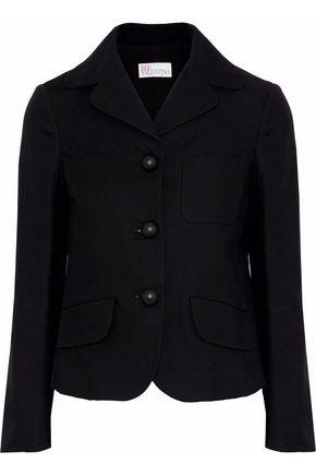 REDValentino Cotton-blend twill blazer