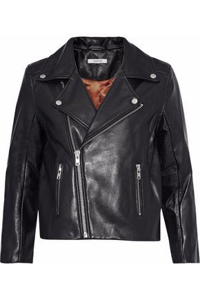 GANNI Passion leather biker jacket