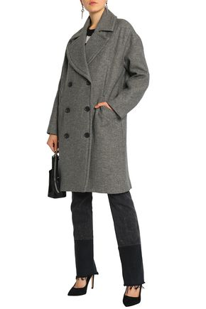 IRO Syday double-breasted woven coat