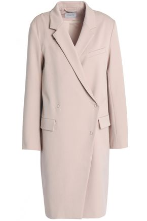 HOUSE OF DAGMAR Double-breasted twill coat
