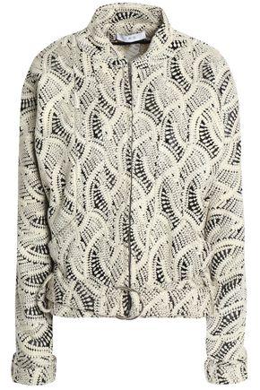 IRO Embroidered woven jacket