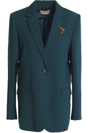 CHRISTOPHER KANE Wool-crepe blazer
