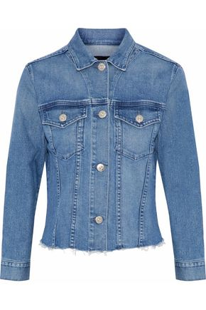 3x1 Distressed denim jacket