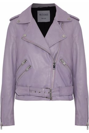 W118 by WALTER BAKER Allison leather biker jacket