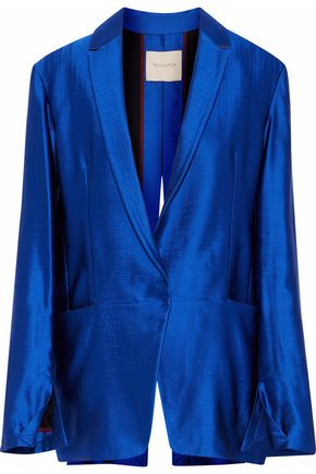 ROKSANDA Wool-blend satin-twill jacket