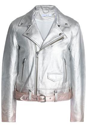 IRO Dégradé leather jacket