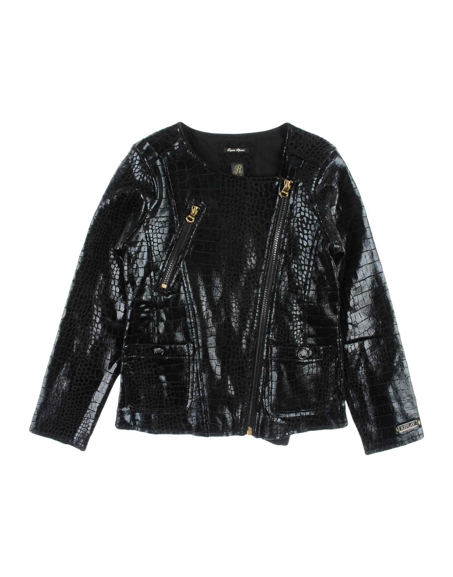 REPLAY Biker Jacket in Black
