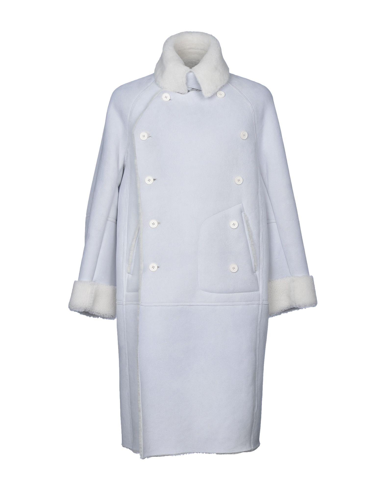 《送料無料》MAISON MARGIELA メンズ コート ライトグレー 46 羊革(ラムスキン)