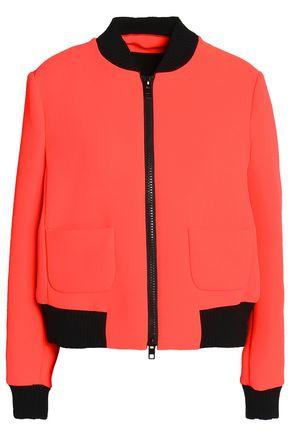 REDValentino Neon neoprene bomber jacket