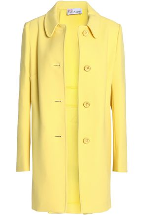 REDValentino Cotton-blend twill coat