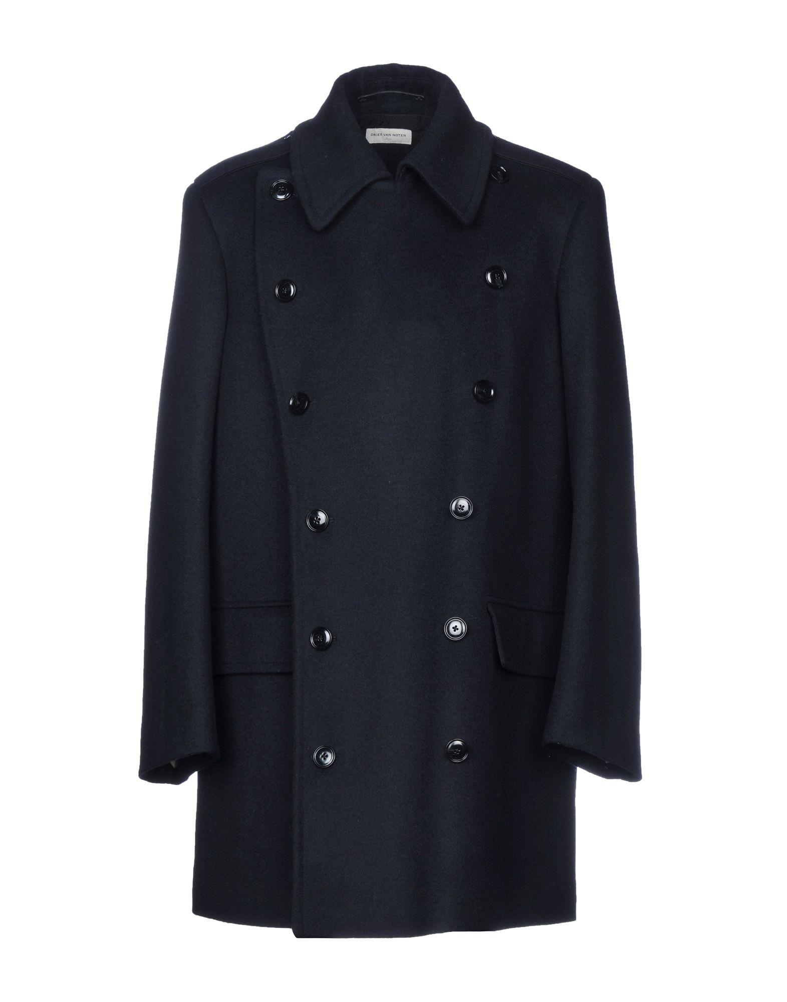 DRIES VAN NOTEN Пальто dries van noten прямое двубортное пальто