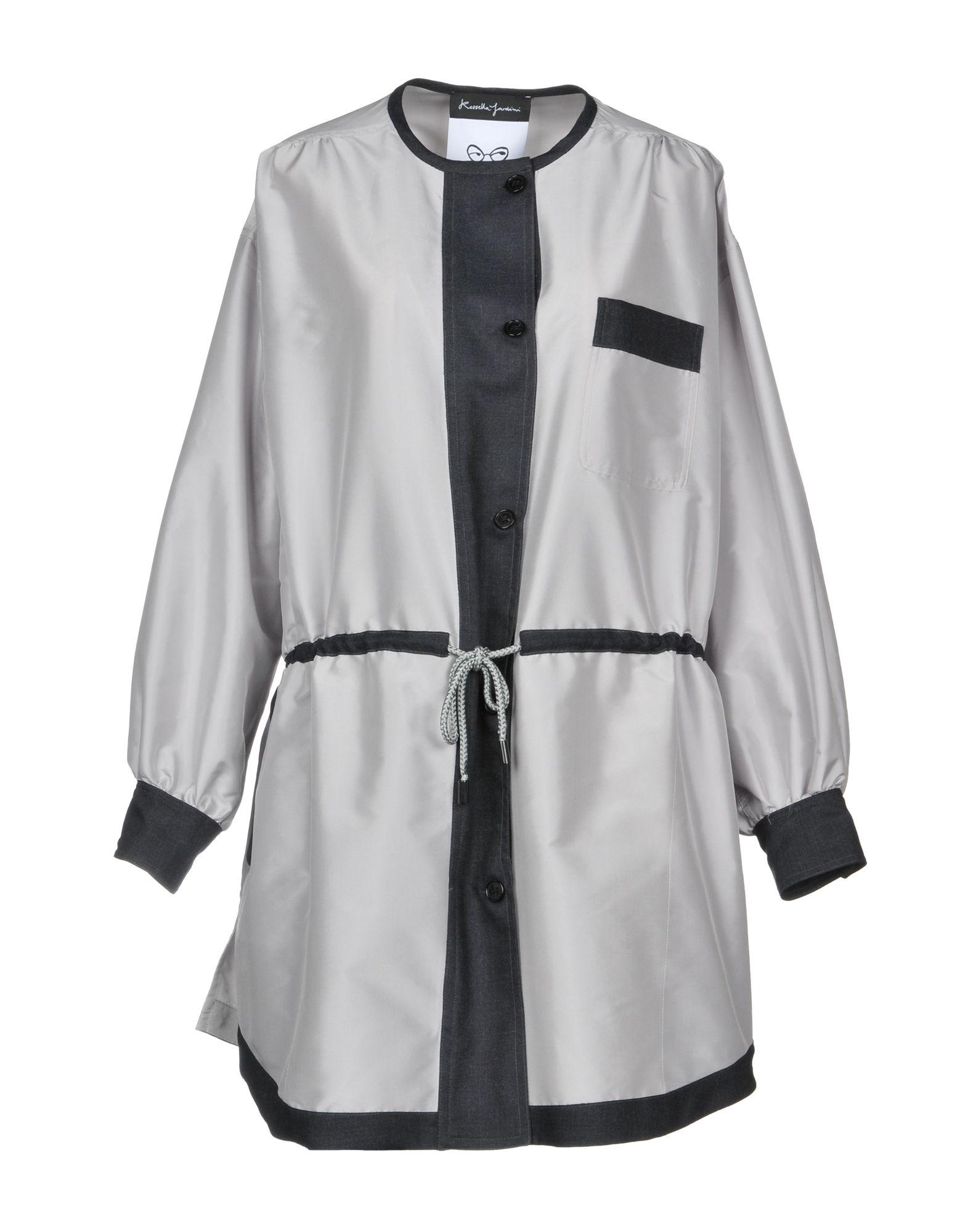ROSSELLA JARDINI Coat in Light Grey