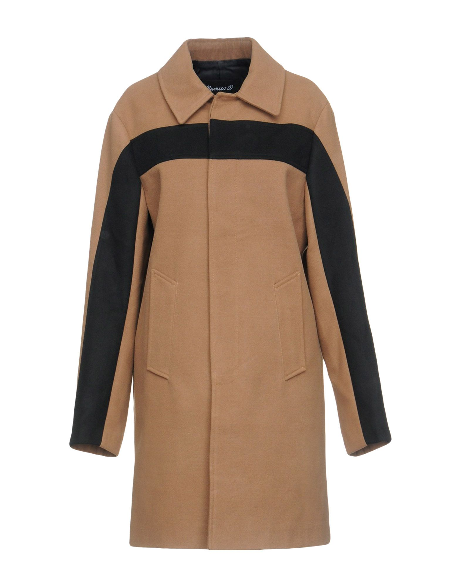 NUMERO00 Coat in Khaki