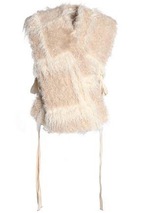 HELMUT LANG Faux shearling vest