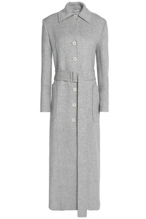Mélange Wool And Cashmere Blend Coat by Helmut Lang