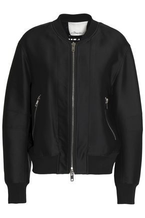 3.1 PHILLIP LIM Lace-up satin bomber jacket