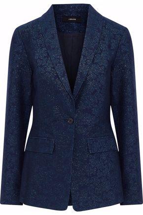 J BRAND Cotton-blend jacquard blazer